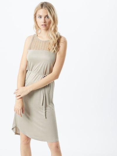 Sublevel Kleid in oliv, Modelansicht