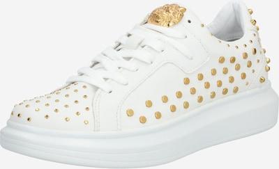 GUESS Sneaker 'Salerno' in gold / weiß, Produktansicht