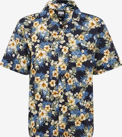 Urban Classics Košile 'Pattern Resort Shirt' - kobaltová modř / mix barev, Produkt