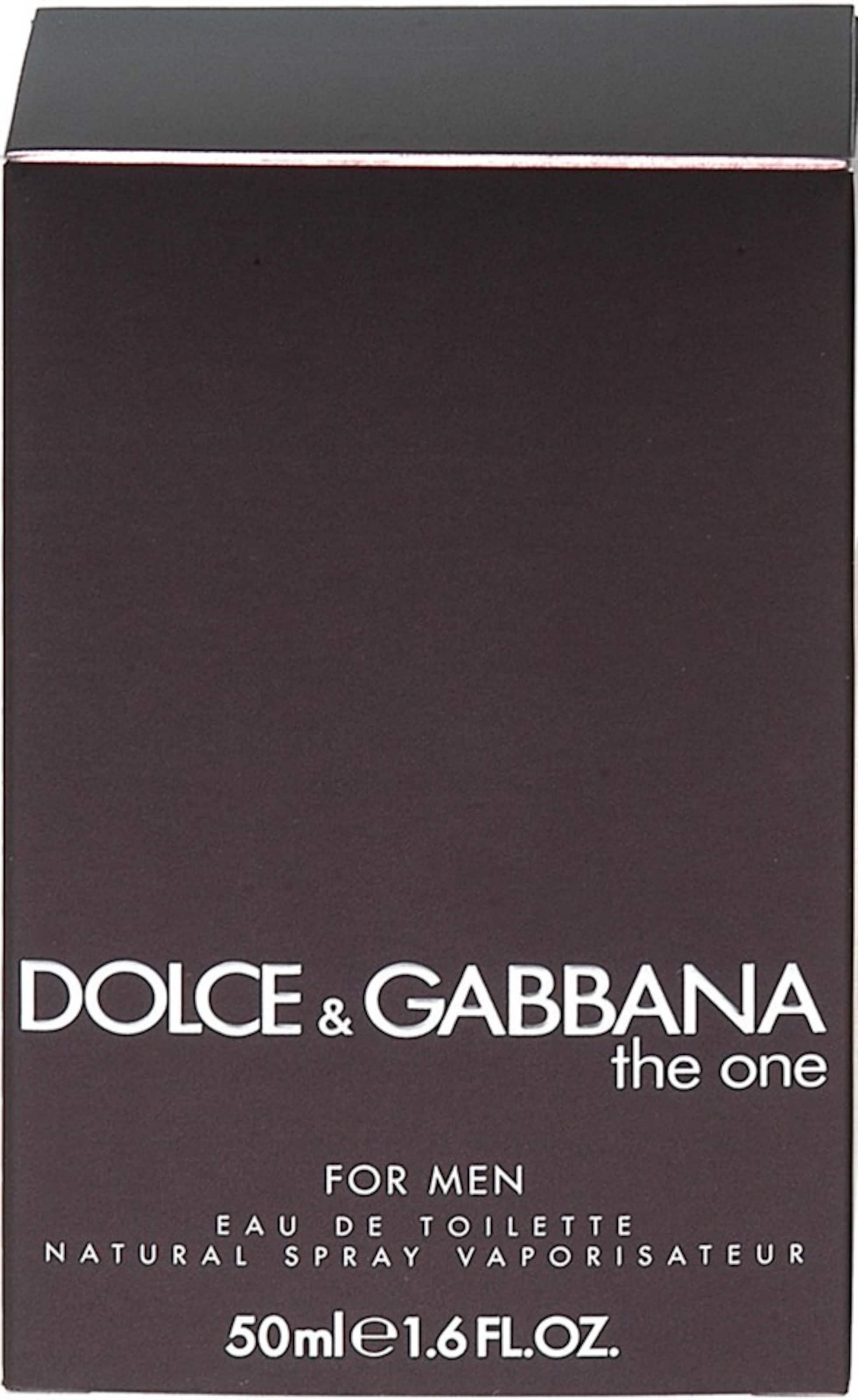 DOLCE & GABBANA 'The One for Men', Eau de Toilette