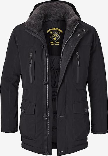Jan Vanderstorm Functionele jas 'Botulfr' in de kleur Zwart, Productweergave