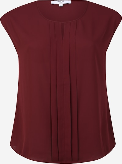 ABOUT YOU Curvy Bluse 'Linett' in bordeaux, Produktansicht