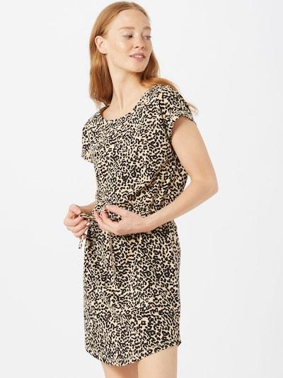 ONLY Sukienka 'ONLMAY SOFIE' w kolorze jasnobrązowy / czarnym, Podgląd na modelu(-ce)