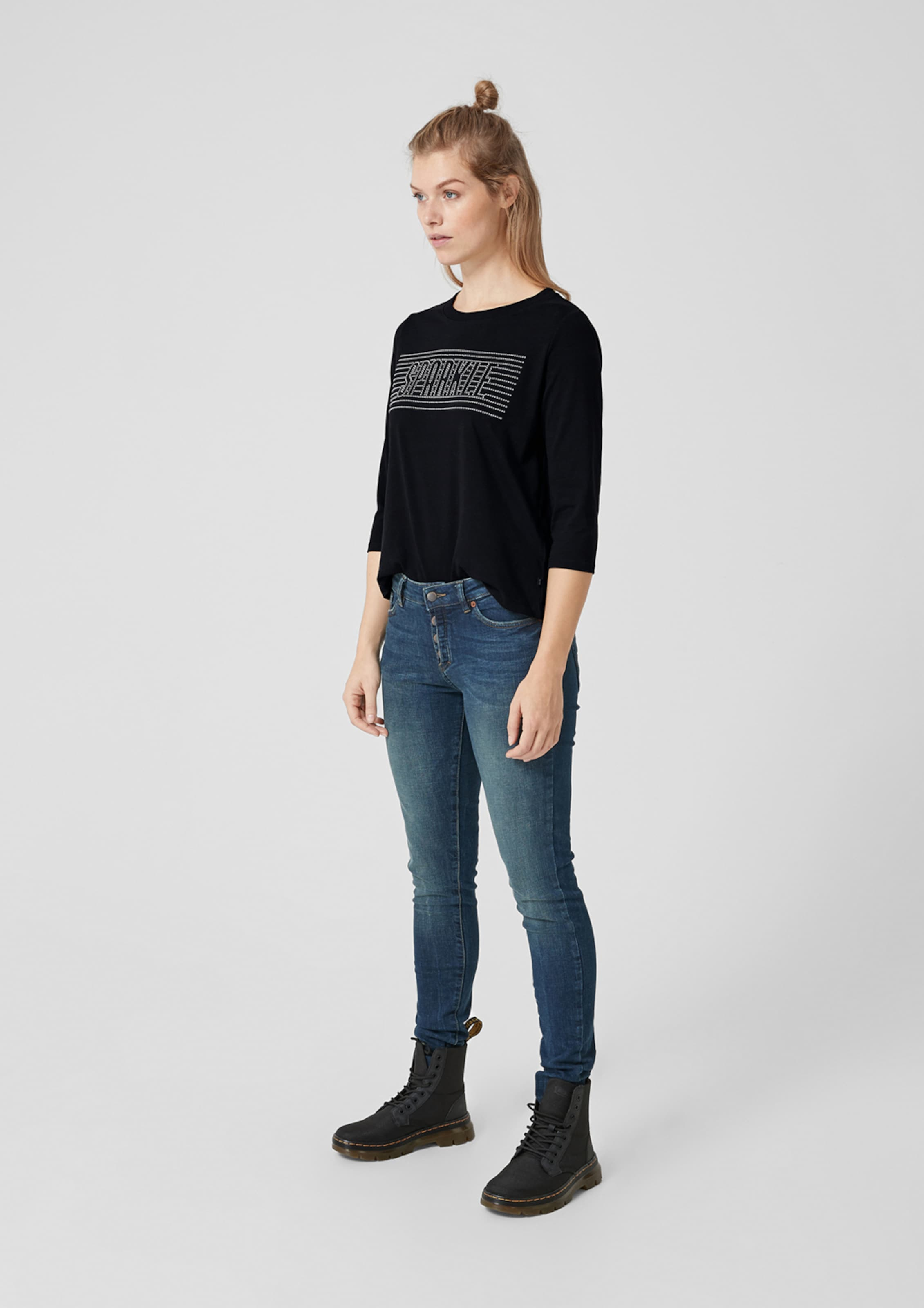 Designed Q In Schwarz Jerseyshirt s By 1J3cKTFul5