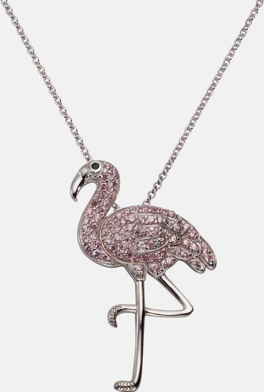 FIRETTI Kette mit Anhänger 'Flamingo'