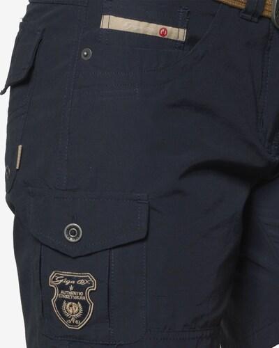 G.I.G.A. DX by killtec Shorts 'Hira' in blau: Frontalansicht