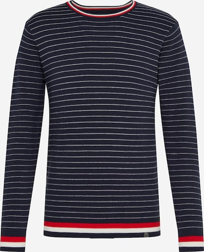 INDICODE JEANS Pullover 'El Ejido' in navy, Produktansicht