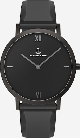 Kapten & Son Analógové hodinky 'Pure Nox' - čierna, Produkt