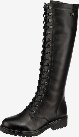 REMONTE Schnürstiefel in schwarz, Produktansicht