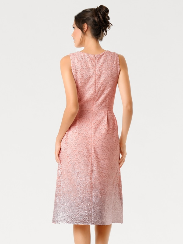Ashley Brooke By Heine Lace Dress With Gradient