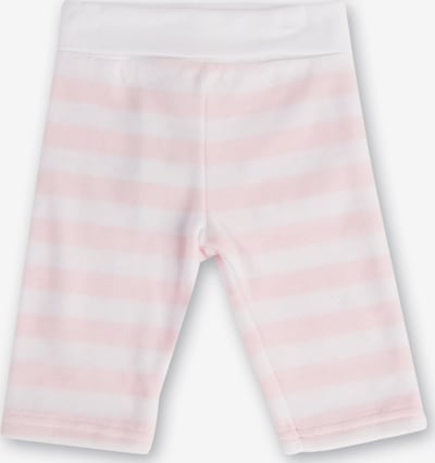 Steiff Collection Softbundhose in rosa / weiß, Produktansicht