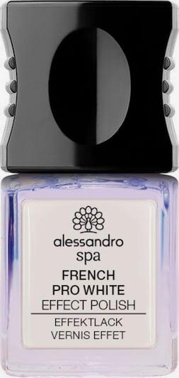 alessandro INTERNATIONAL Nagellack 'Spa Pro White French' in weiß, Produktansicht