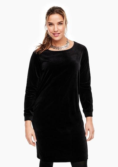 TRIANGLE Kleid in schwarz, Modelansicht