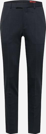 HUGO Pantalon à plis 'Heiron' en bleu marine / rouge, Vue avec produit