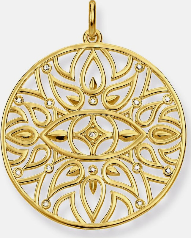 Thomas Sabo Kettenanhänger 'Mandala-Ornamentik, D_PE0002-924-39'