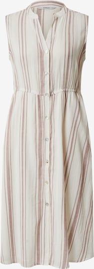 ONLY Košeľové šaty 'DORRIE' - bordová / šedobiela, Produkt