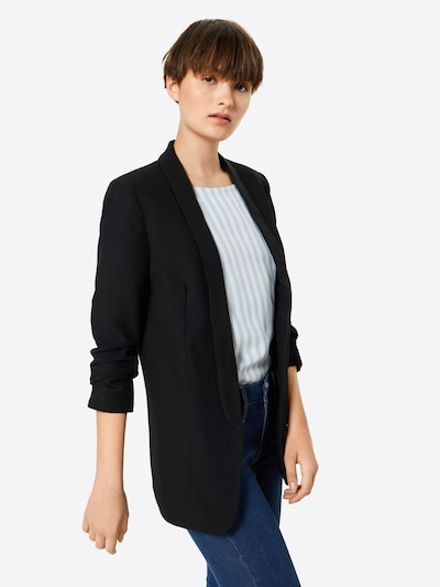 PIECES Blazer in schwarz, Modelansicht