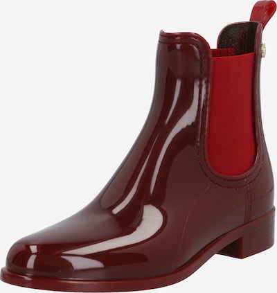 LEMON JELLY Rubber boot 'Comfy' in Red / Burgundy, Item view