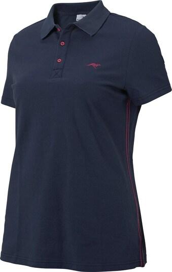 KangaROOS Poloshirt in marine, Produktansicht