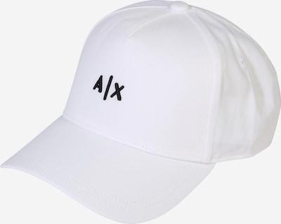 ARMANI EXCHANGE Cap in schwarz / weiß, Produktansicht