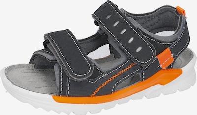 RICOSTA Sandalen 'Tajo' in dunkelblau / grau / orangemeliert, Produktansicht