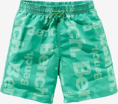 BENCH Shorts in grün / hellgrün, Produktansicht