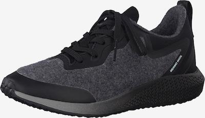 TAMARIS Sneaker in dunkelgrau / schwarz, Produktansicht