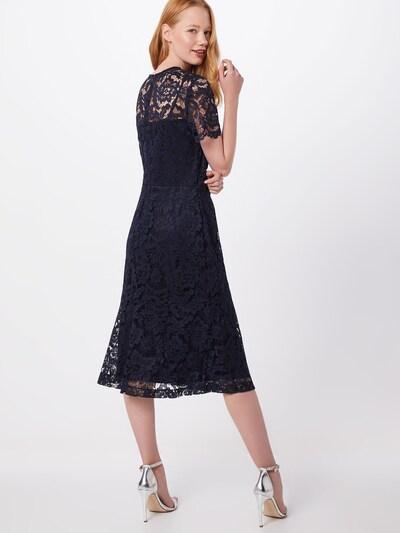 Lauren Ralph Lauren Koktejl obleka 'LOKI-SHORT SLEEVE-DAY DRESS' | mornarska barva: Pogled od zadnje strani