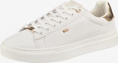 MEXX Sneakers laag 'Crista' in de kleur Goud / Wit, Productweergave