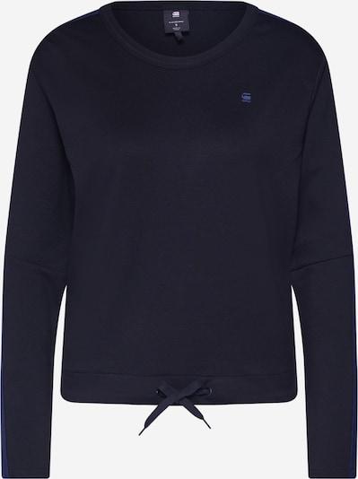 G-Star RAW Shirt 'Nostelle cropped' in blau / schwarz, Produktansicht