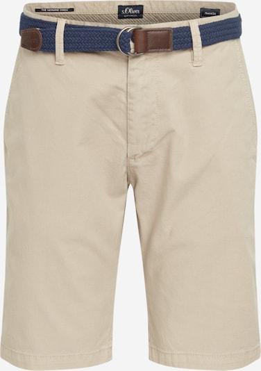 s.Oliver Shorts in beige: Frontalansicht