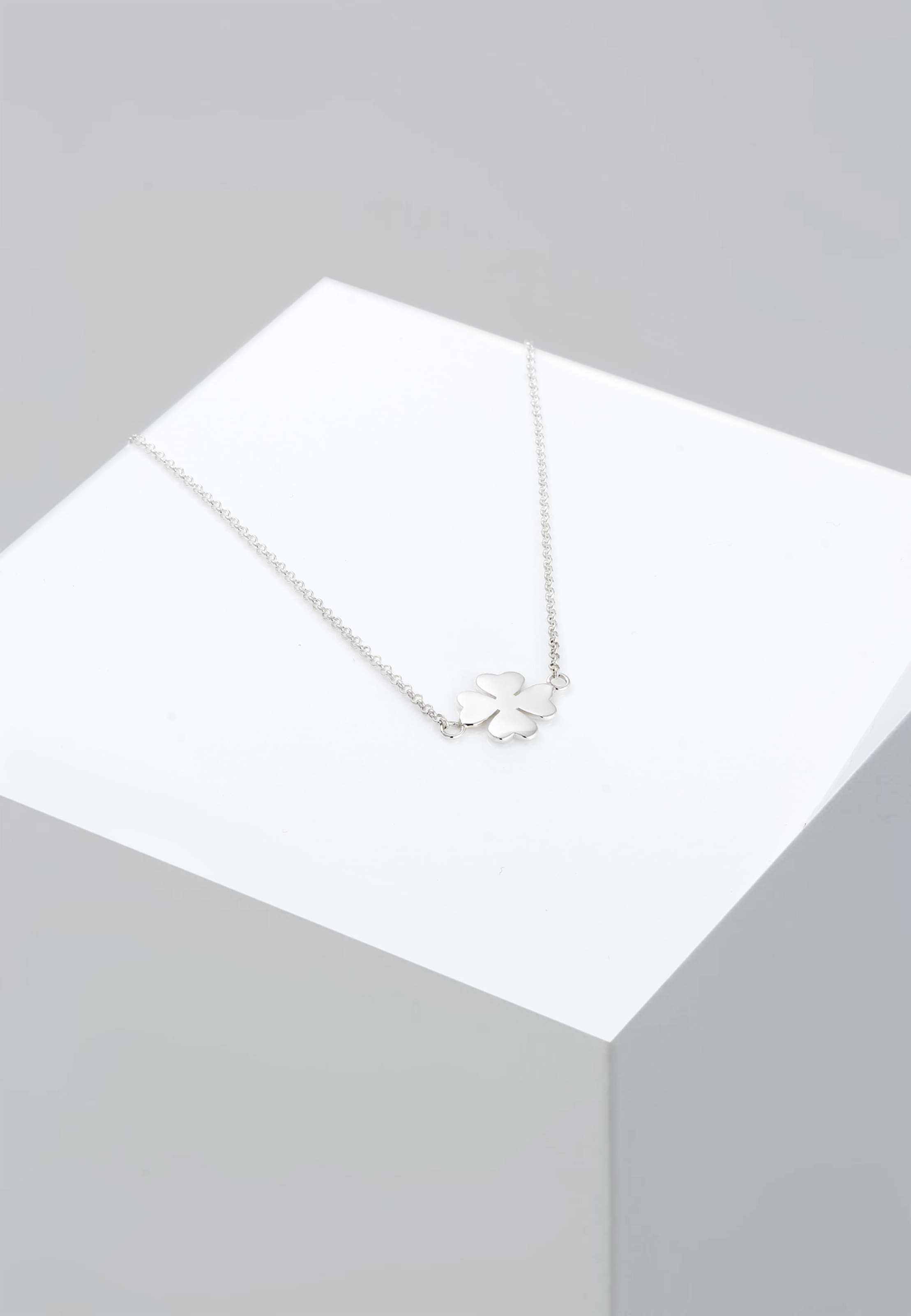 In Elli Silber 'kleeblatt' Halskette UzMSVGqp