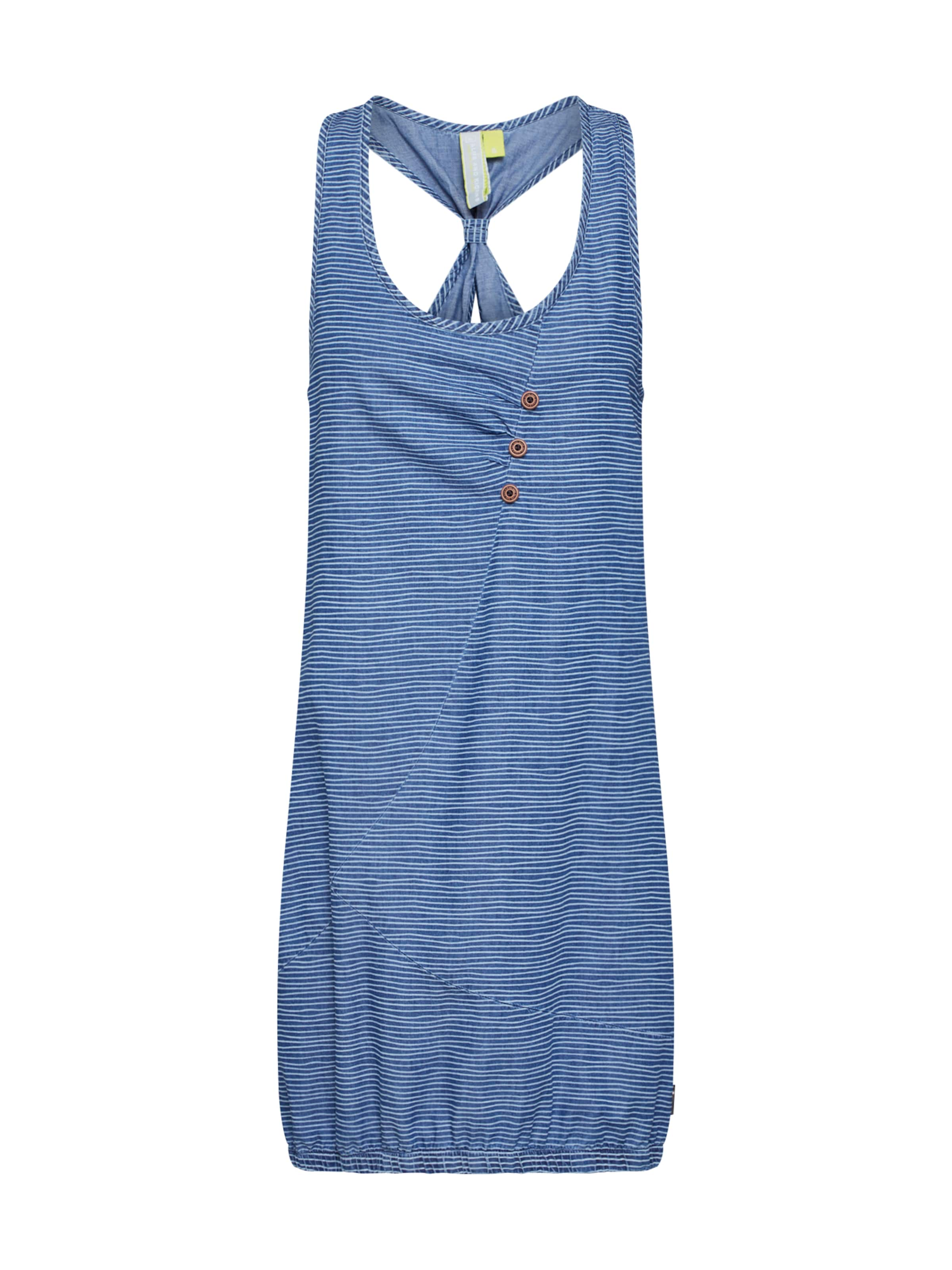 Alife And Kickin Kleid BlauWeiß A 'cameron Dress' In E2DH9I