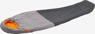 MCKINLEY Kunstfaserschlafsack 'Mu-Schlafsack Trekker 5 IDE I' in anthrazit / orange, Produktansicht