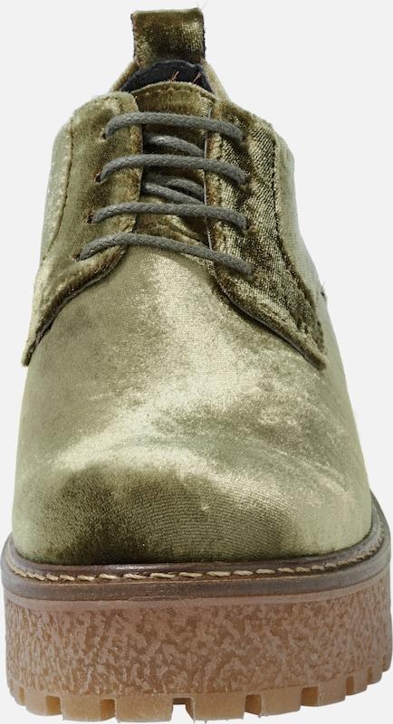 heine Schnürschuhe aus Samt Verschleißfeste billige Schuhe
