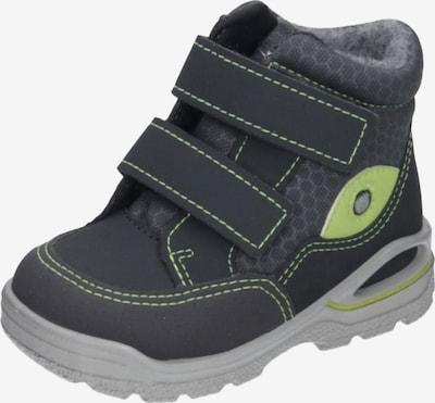 Pepino Stiefel in grau / basaltgrau / dunkelgrau / kiwi, Produktansicht
