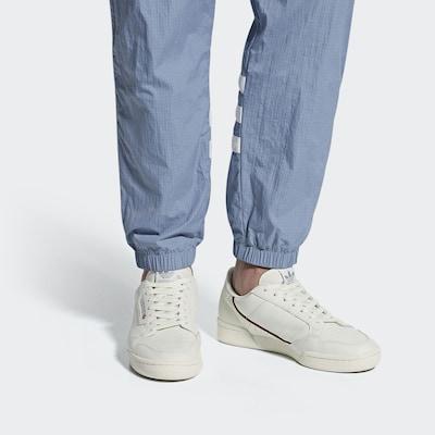 ADIDAS ORIGINALS Sneaker 'Continental 80' in rot / schwarz / offwhite: Frontalansicht