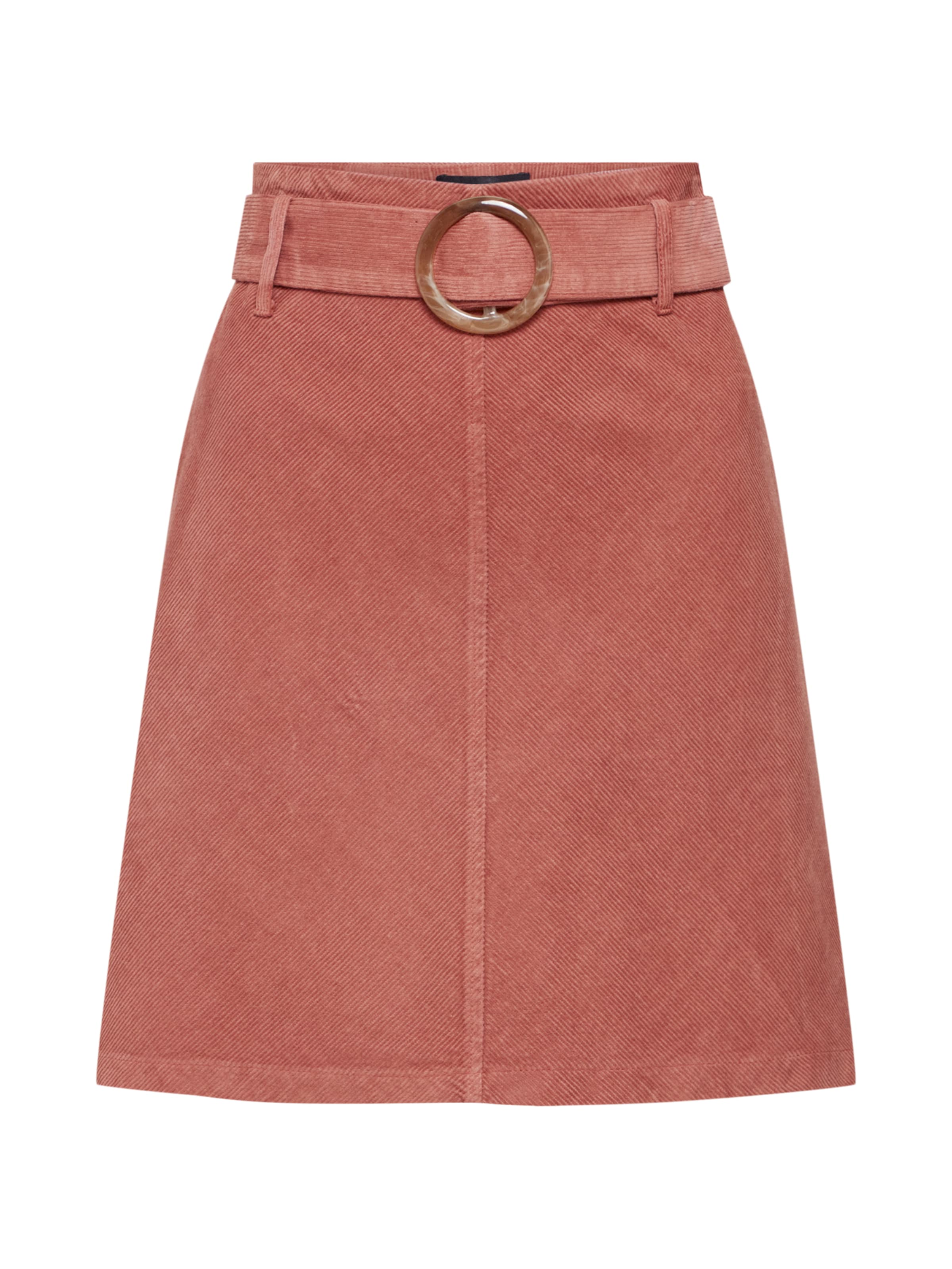 Rosa Cord Look New Skirt' In Rock 'buckle doBCxer