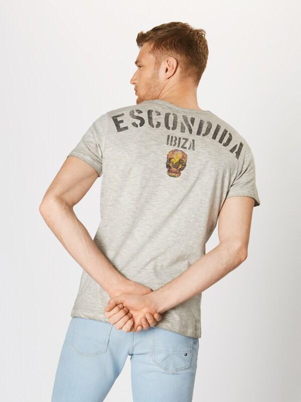 T ArgentéMélange Gris En shirt De Couleurs Largo Key 'escondida' ID2EWH9