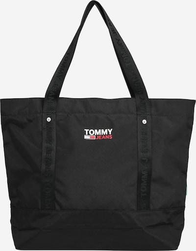 Tommy Jeans Shopper in rot / schwarz / weiß, Produktansicht