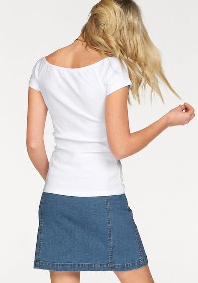ARIZONA Carmenshirt in weiß, Produktansicht