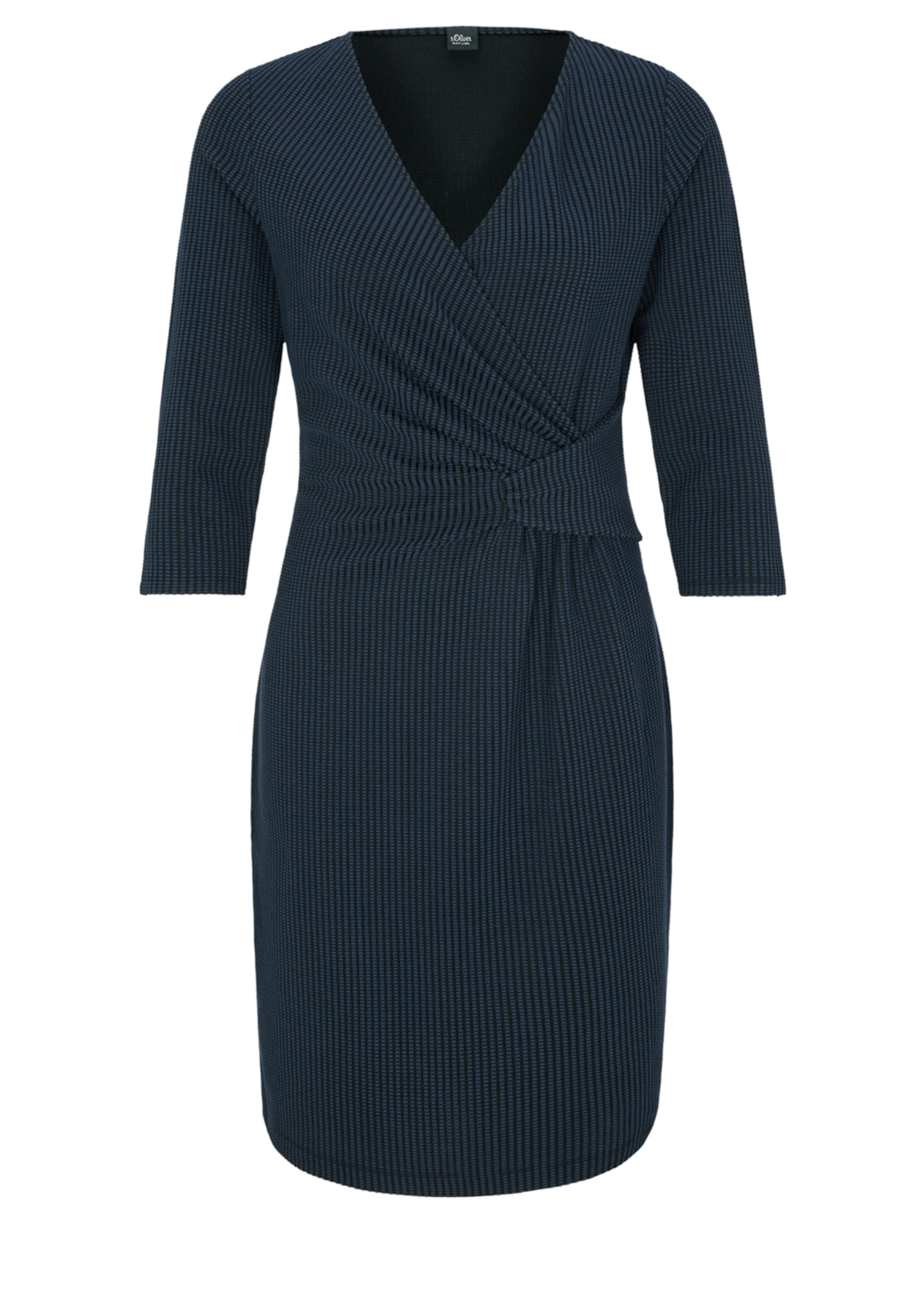 Kleid Black In NachtblauDunkelblau Label oliver S dWrBoxCe