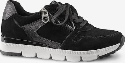 MARCO TOZZI by GUIDO MARIA KRETSCHMER Sneaker in schwarz / silber, Produktansicht