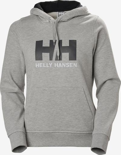 HELLY HANSEN Hoodie in graumeliert / weiß, Produktansicht