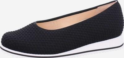 HASSIA Slipper in schwarz / weiß, Produktansicht