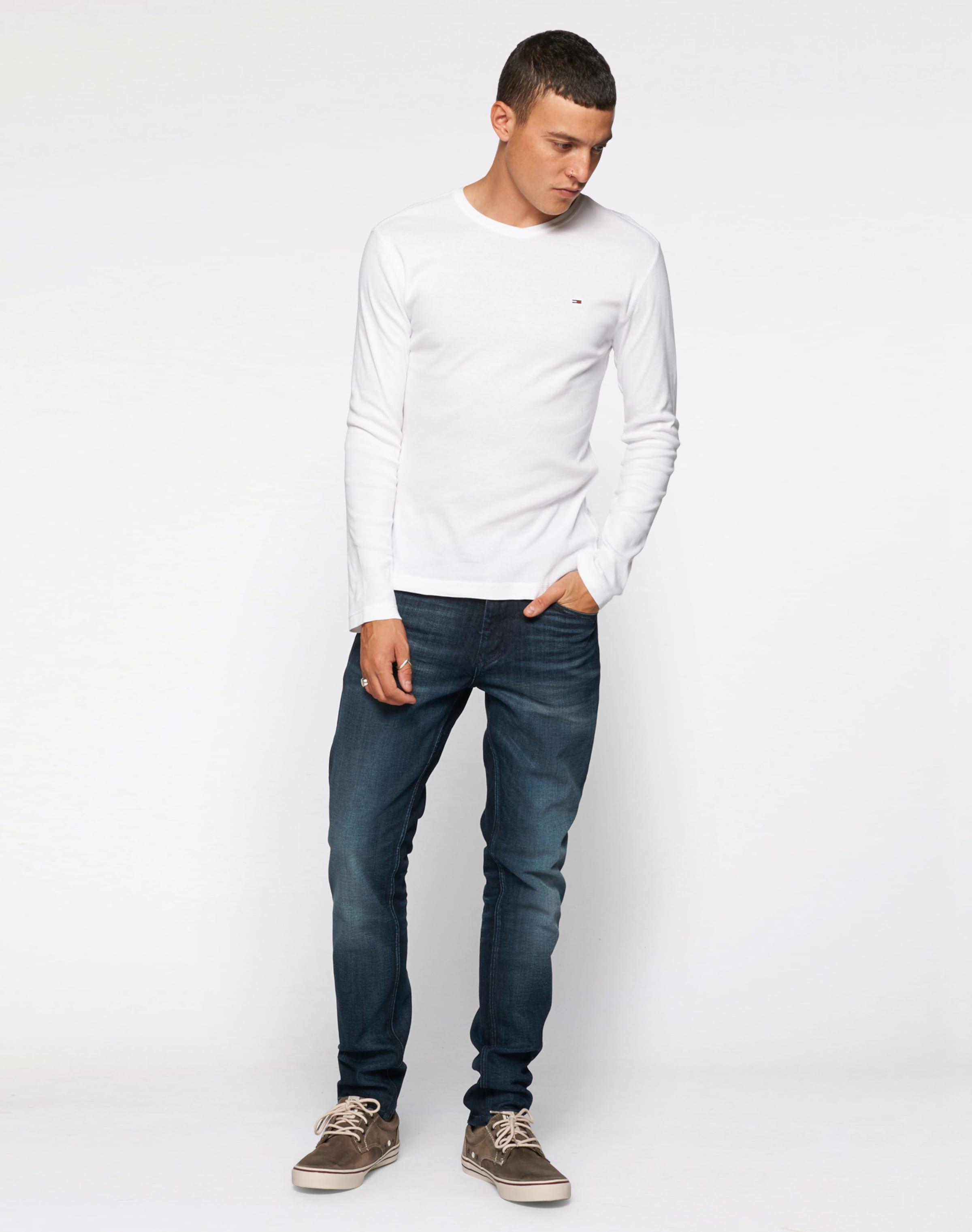 Großer Rabatt Tommy Jeans Langarmshirt 'Original' Aus Deutschland Zum Verkauf MNOUVDB