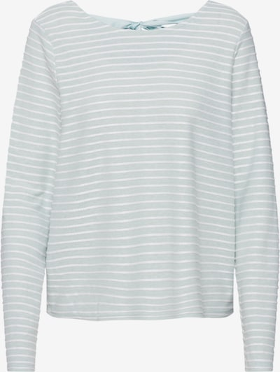 ONLY Trui 'ONLELLY STRIPE TOP' in de kleur Groen / Wit, Productweergave