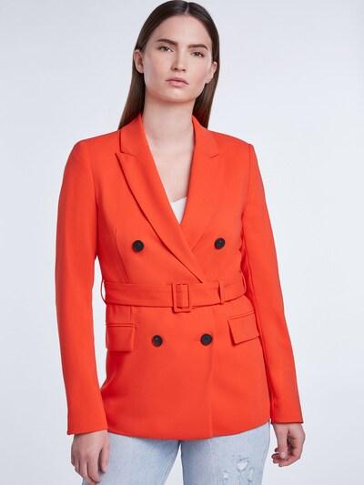 SET Blazer in orangerot, Modelansicht