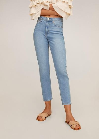 MANGO Jeans in himmelblau, Modelansicht