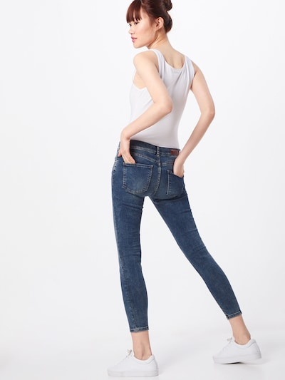 LTB Jeans 'Lonia' in blue denim: Rückansicht